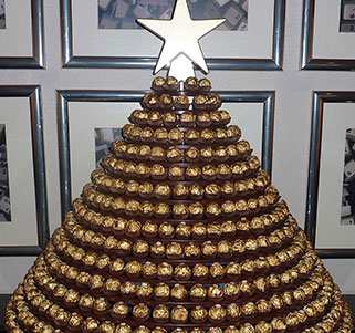 Ferrero Rocher Tower