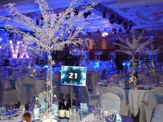 CRYSTAL TREES CENTREPIECE